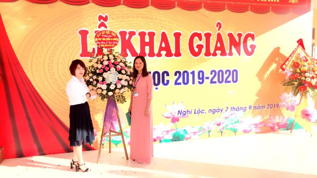 Lễ trao quà khai giảng 2019 - 2020