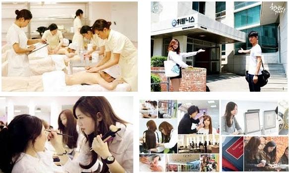 TOP 5 trường đào tạo ngành làm đẹp tại Hàn